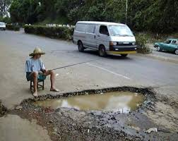 pothole